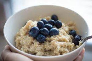 Правильное питание для похудения примерное меню на неделю рецепт и фото каши с ягодами