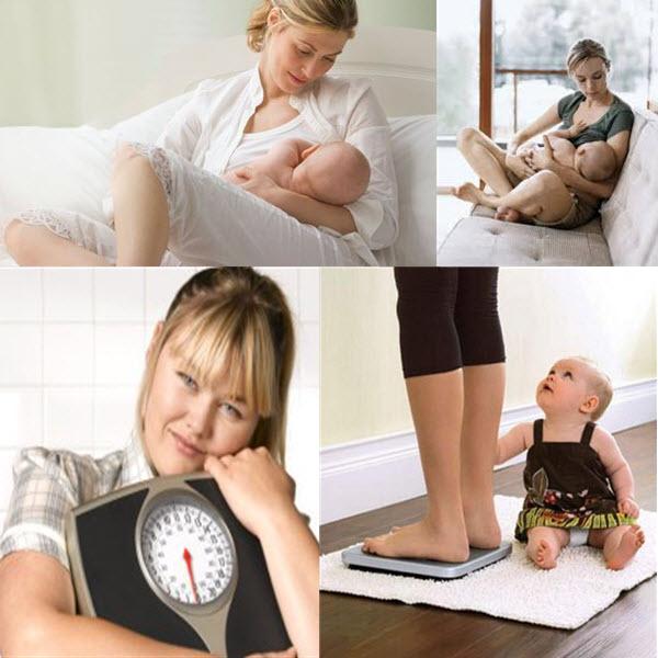 как похудеть кормящей маме в домашних условиях