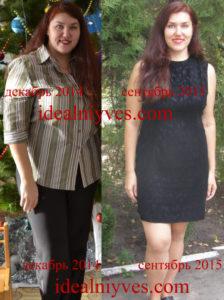 Фото до и после похудения на 40 кг, одежда