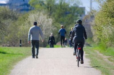 Сколько ходить, чтобы похудеть и где - идеи про парки и скверы, а также людей прогуливающихся по ним