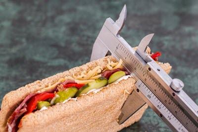 Идеи как заставить себя похудеть измеряя размер бутерброда